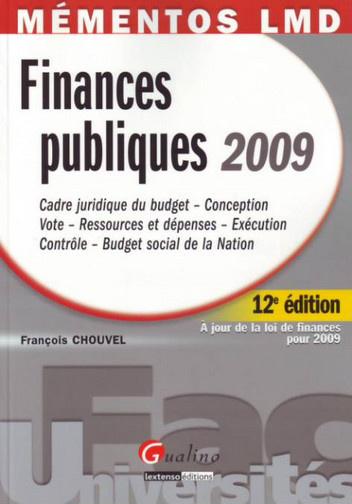 MEMENTOS LMD. FINANCES PUBLIQUES 2009, 12EME EDITION