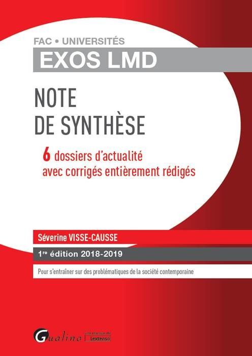 EXOS LMD - NOTE DE SYNTHESE
