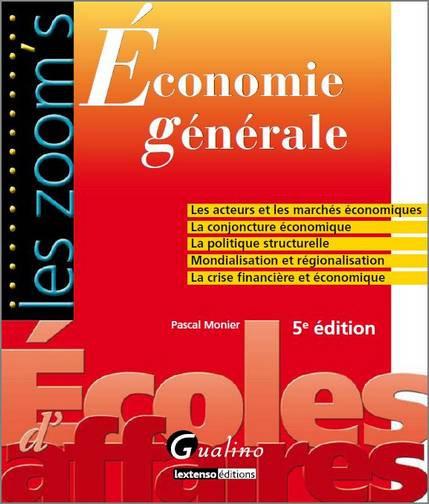 ECONOMIE GENERALE, 5 EME EDITION