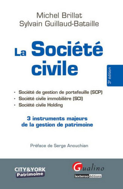 LA SOCIETE CIVILE - 3EME EDITION