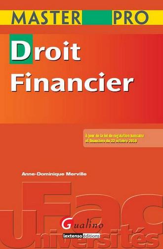 MASTER PRO. DROIT DES MARCHES FINANCIERS