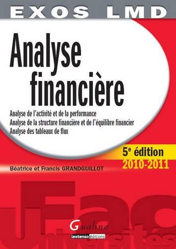EXOS LMD - ANALYSE FINANCIERE, 5EME EDITION