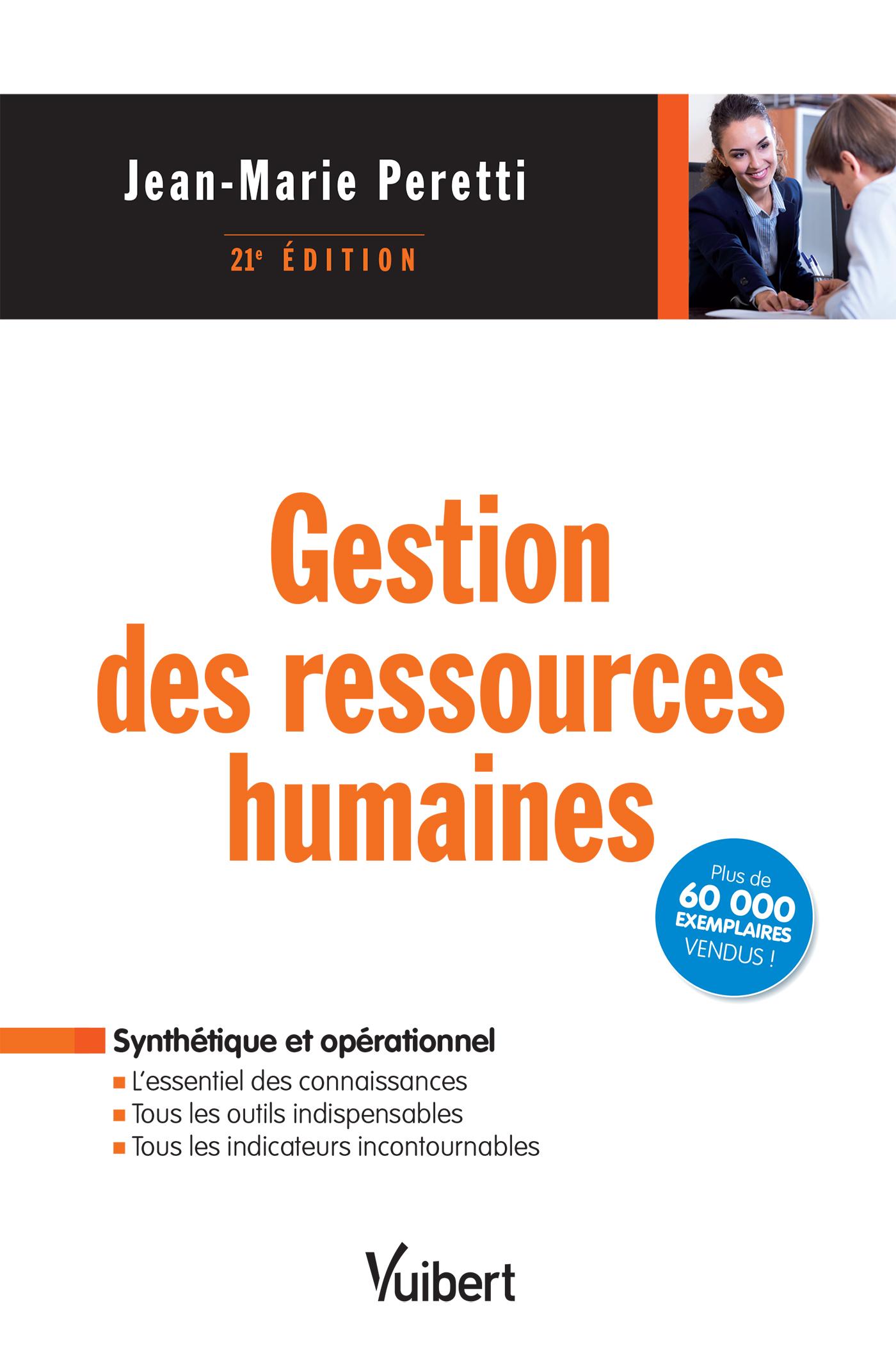 GESTION DES RESSOURCES HUMAINES 21E EDT