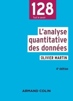 L'ANALYSE QUANTITATIVE DES DONNEES - 4E ED.