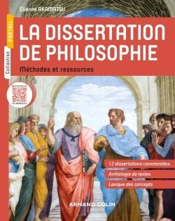LA DISSERTATION DE PHILOSOPHIE - METHODES ET RESSOURCES