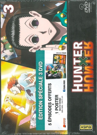 HUNTER X HUNTER VOL 3