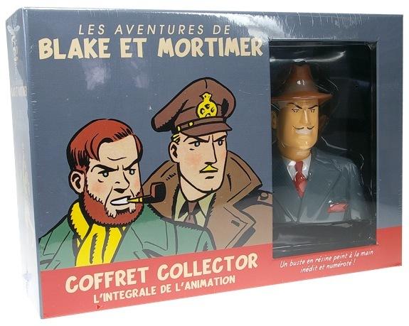COFFRET COLLECTOR 6 DVD + FIGURINE : LES AVENTURES DE BLAKE ET MORTIMER