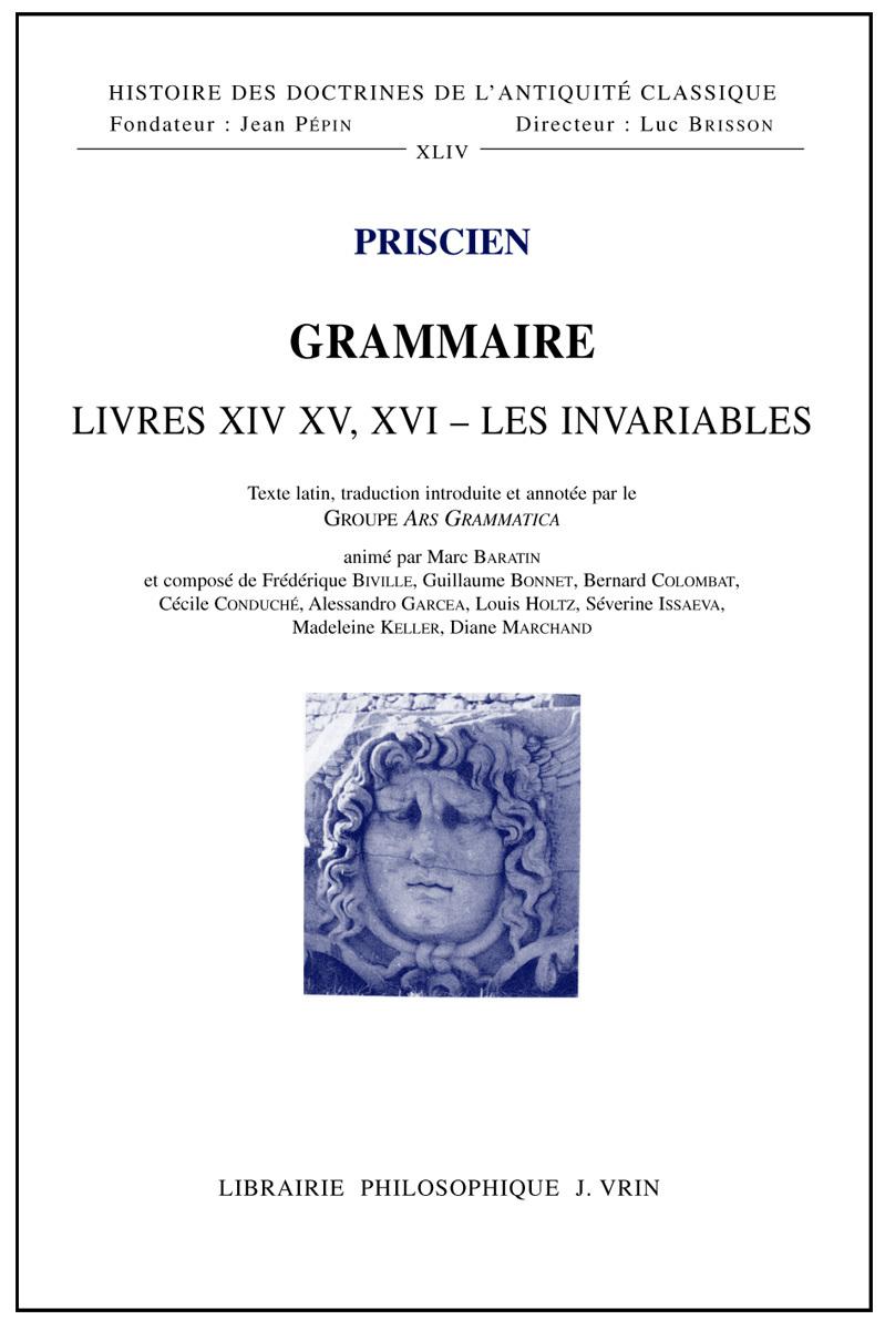 GRAMMAIRE LIVRES XIV - XV - XVI
