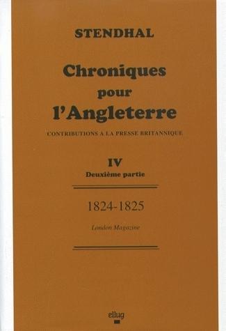 TOME V : 1824-1825. LETTRES DU PETIT NEVEU DE GRIMM
