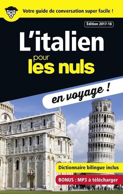 L'ITALIEN POUR LES NULS EN VOYAGE - EDITION 2017-18
