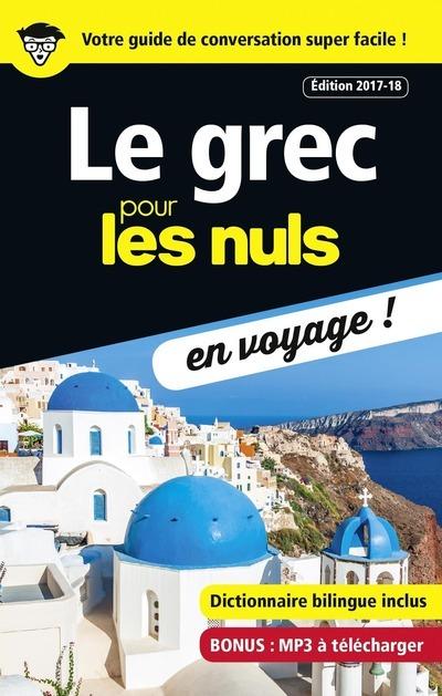 LE GREC POUR LES NULS EN VOYAGE - EDITION 2017-18