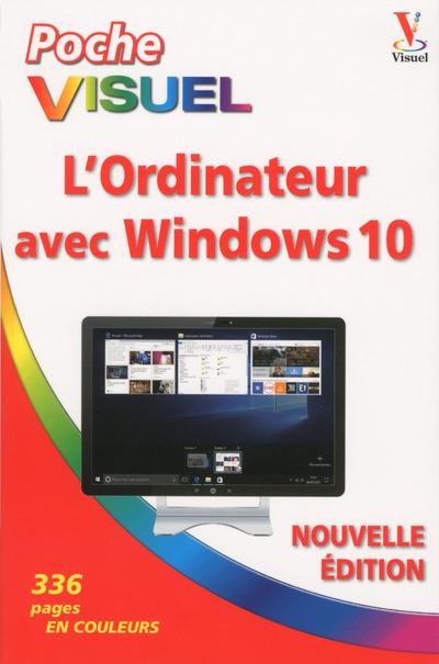 POCHE VISUEL L'ORDINATEUR AVEC WINDOWS 10 NOUVELLEEDITION