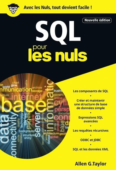 SQL POCHE POUR LES NULS 3ED