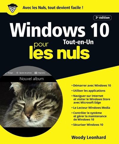 WINDOWS 10 TOUT-EN-1 POUR LES NULS 3E EDITION