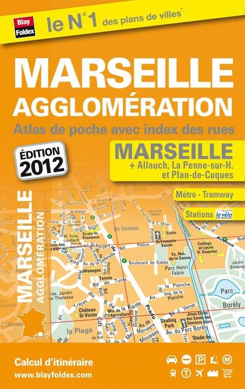 MARSEILLE AGGLOMERATION (13) - ATLAS DE POCHE