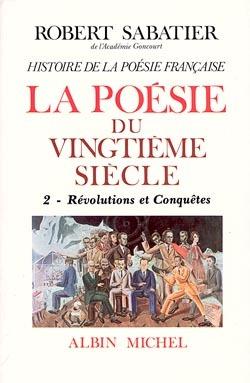 HISTOIRE DE LA POESIE DU XXE SIECLE - TOME 2