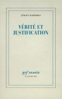 VERITE ET JUSTIFICATION
