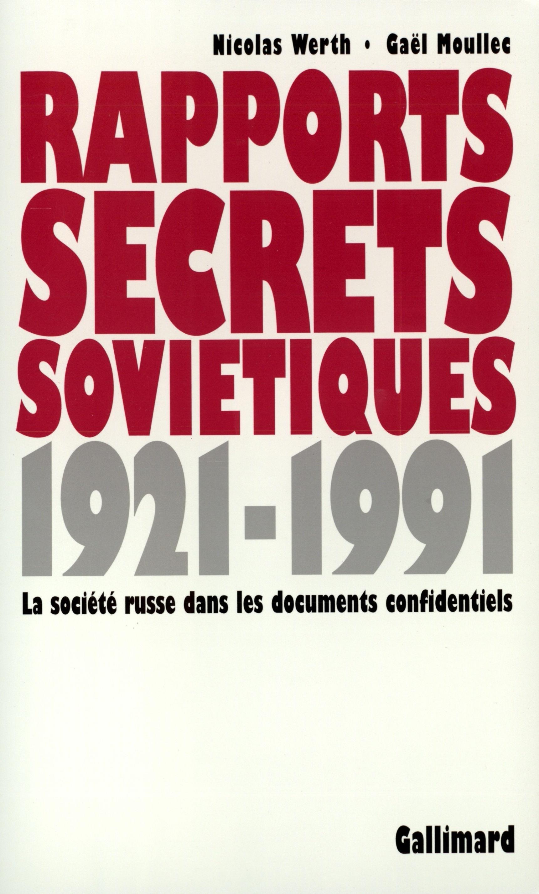 RAPPORTS SECRETS SOVIETIQUES