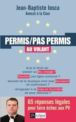 PERMIS/PAS PERMIS AU VOLANT