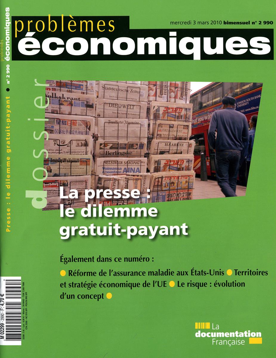 LA PRESSE : LE DILEMME GRATUIT-PAYANT N 2990