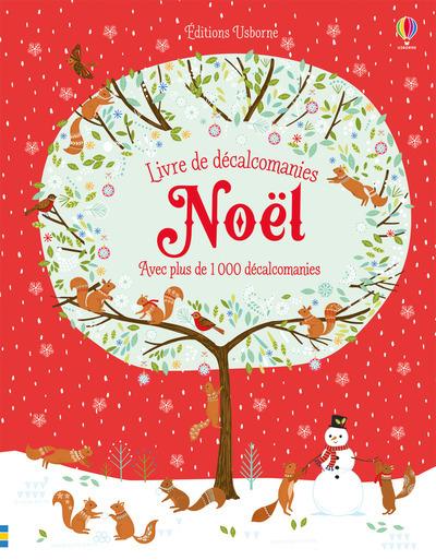 NOEL - LIVRE DE DECALCOMANIES