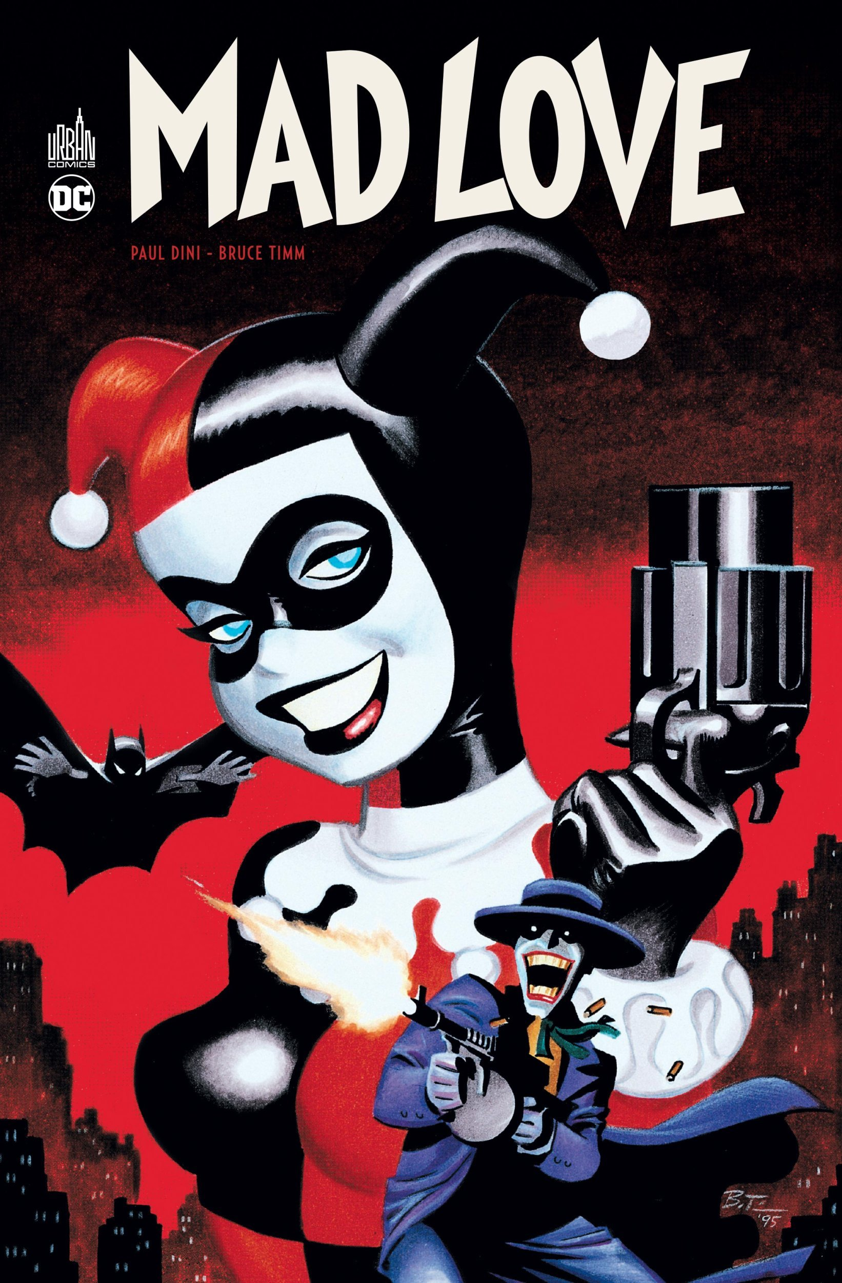 BATMAN MAD LOVE+DVD