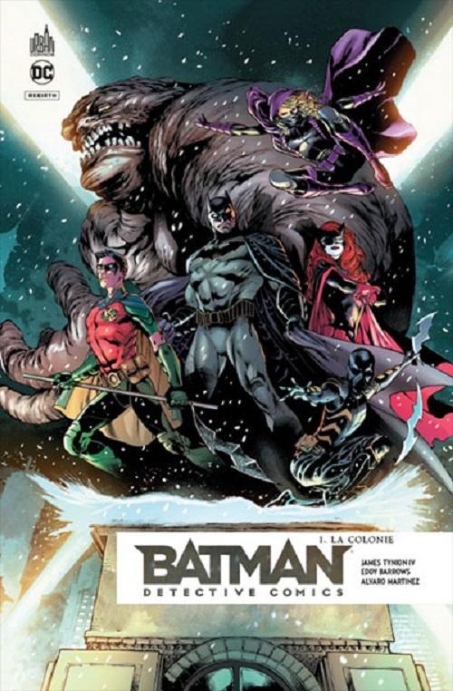 BATMAN DETECTIVE COMICS TOME 1