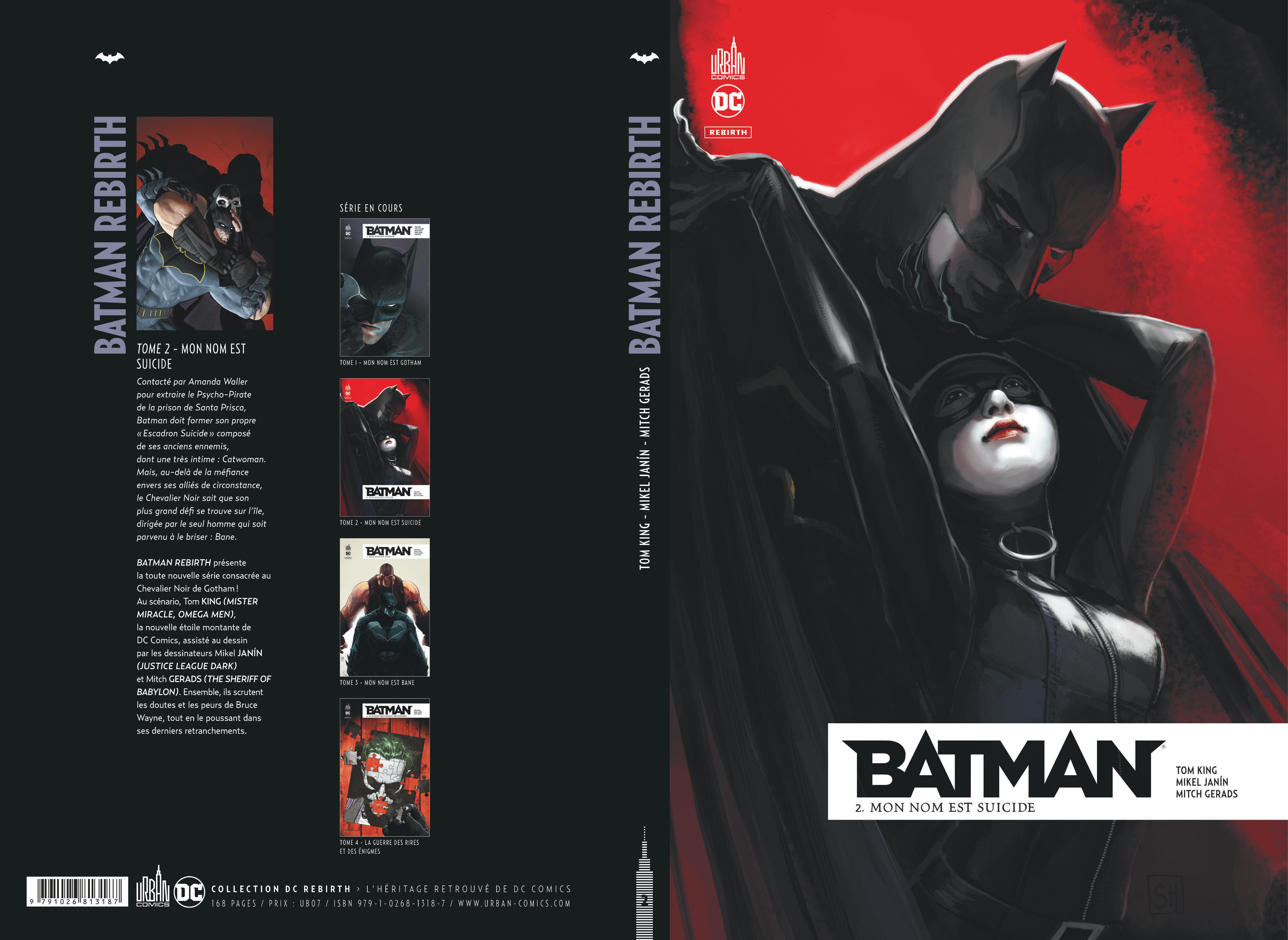 BATMAN REBIRTH TOME 2