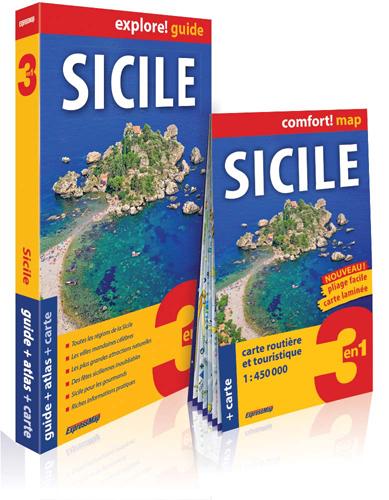 SICILE (EXPLORE! GUIDE 3EN1)