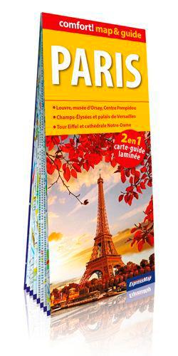 PARIS 1/17.000 (MAP&GUIDE LAMINE)