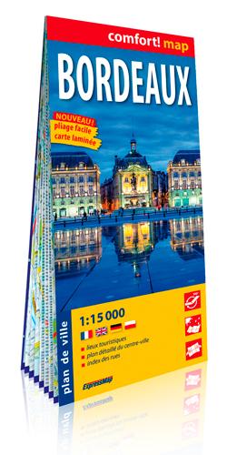 BORDEAUX 1/15.000 (CARTE LAMINEE GRAND FORMAT)