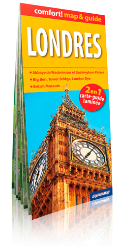 LONDRES 1/20.000 (COMFORT !MAP&GUIDE, CARTE LAMINEE)