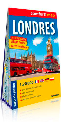 LONDRES 1/1.1M (CARTE POCHE LAMINEE)