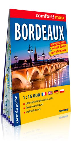BORDEAUX 1/15.000 (CARTE LAMINEE DE POCHE)