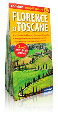 FLORENCE ET TOSCANE (COMFORT !MAP&GUIDE XL)