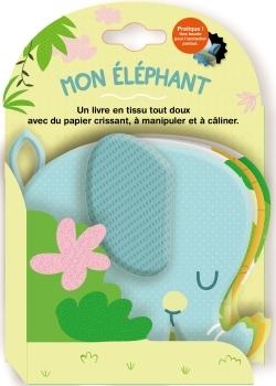 MON ELEPHANT - TISSU