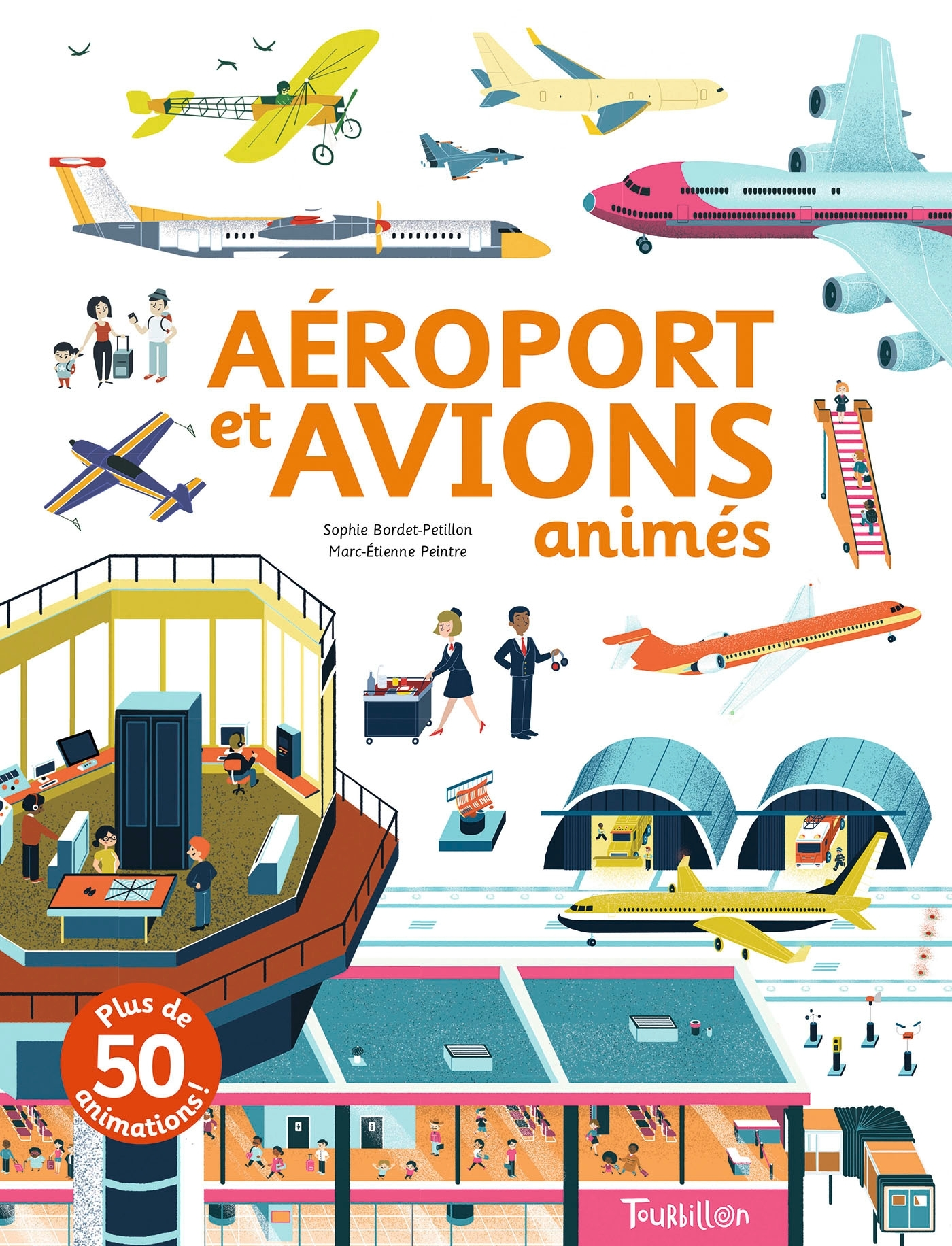AEROPORT ET AVIONS ANIMES