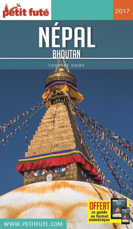 NEPAL - BHOUTAN  2017-2018 PETIT FUTE + OFFRE NUM