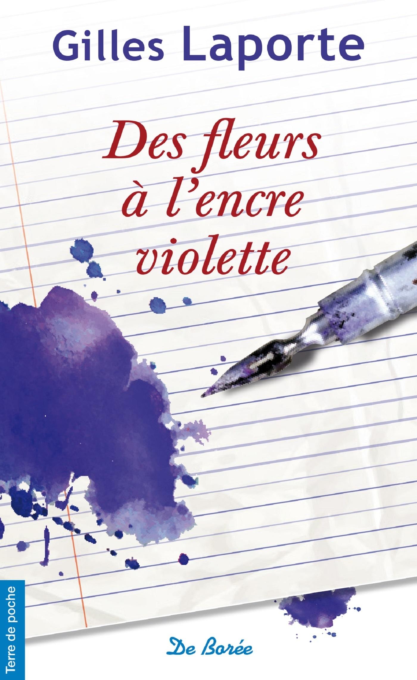 FLEURS A L'ENCRE VIOLETTE (DES)