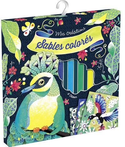 SABLES COLORES - OISEAUX DE PARADIS