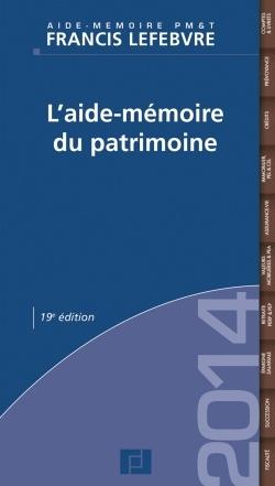 L'AIDE-MEMOIRE DU PATRIMOINE