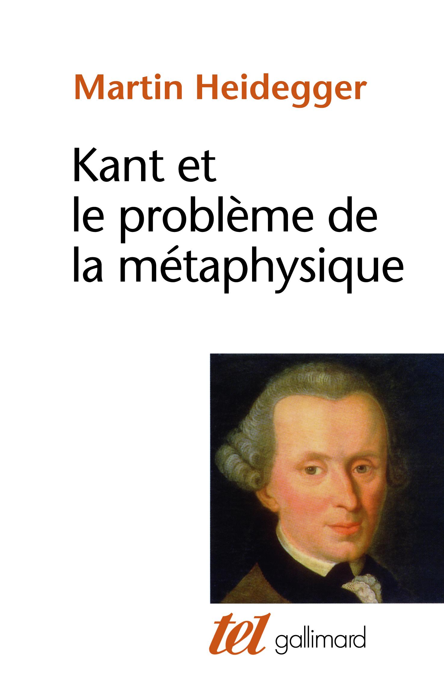 KANT ET LE PROBLEME DE LA METAPHYSIQUE