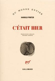 C'ETAIT HIER