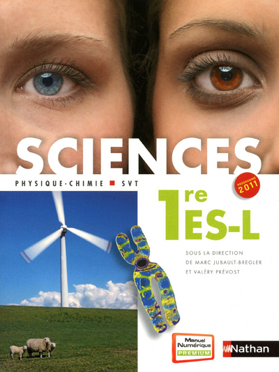 SCIENCES 1ERE ES-L PROGRAMME11