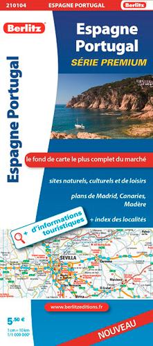 ESPAGNE PORTUGAL ROUTIERE ET TOURISTIQUE