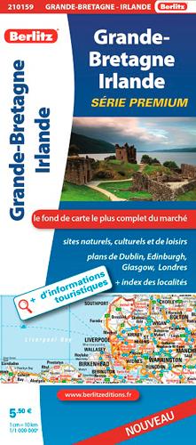 GRANDE-BRET/IRLANDE ROUTIERE TOURISTIQUE