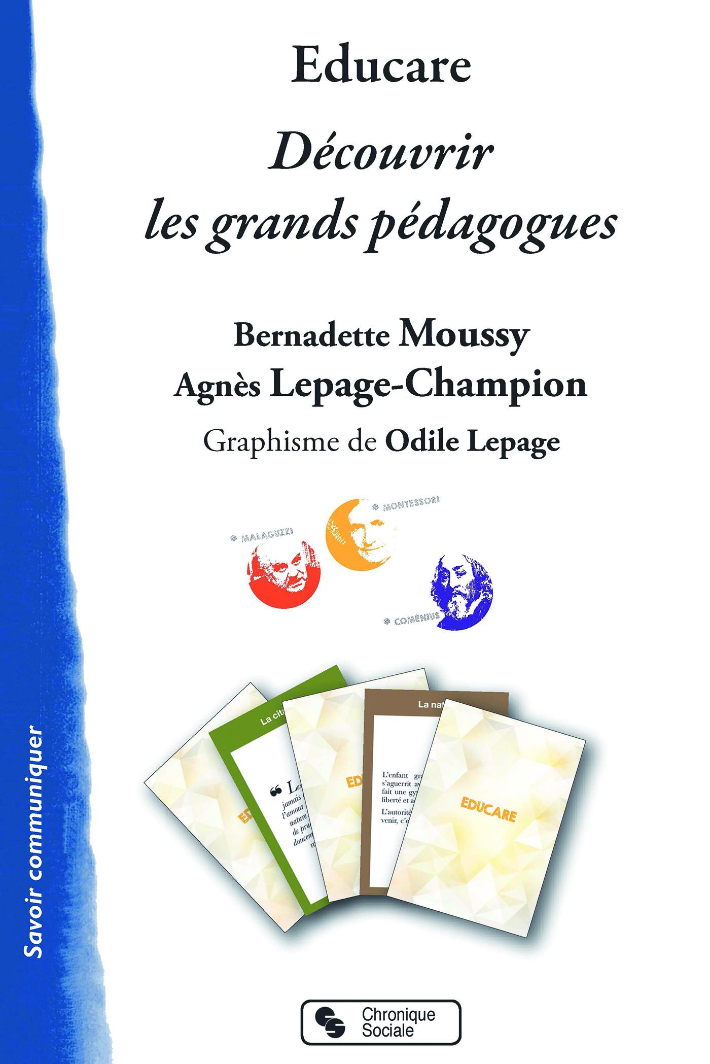 EDUCARE - DECOUVRIR LES GRANDS PEDAGOGUES