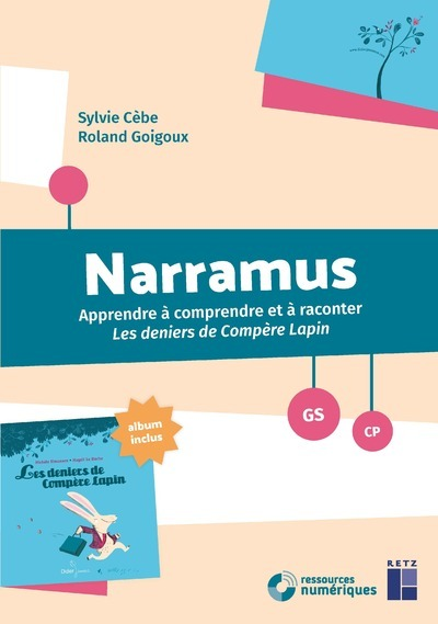 NARRAMUS - LES DENIERS DE COMPERE LAPIN GS +ALBUM + CD-ROM