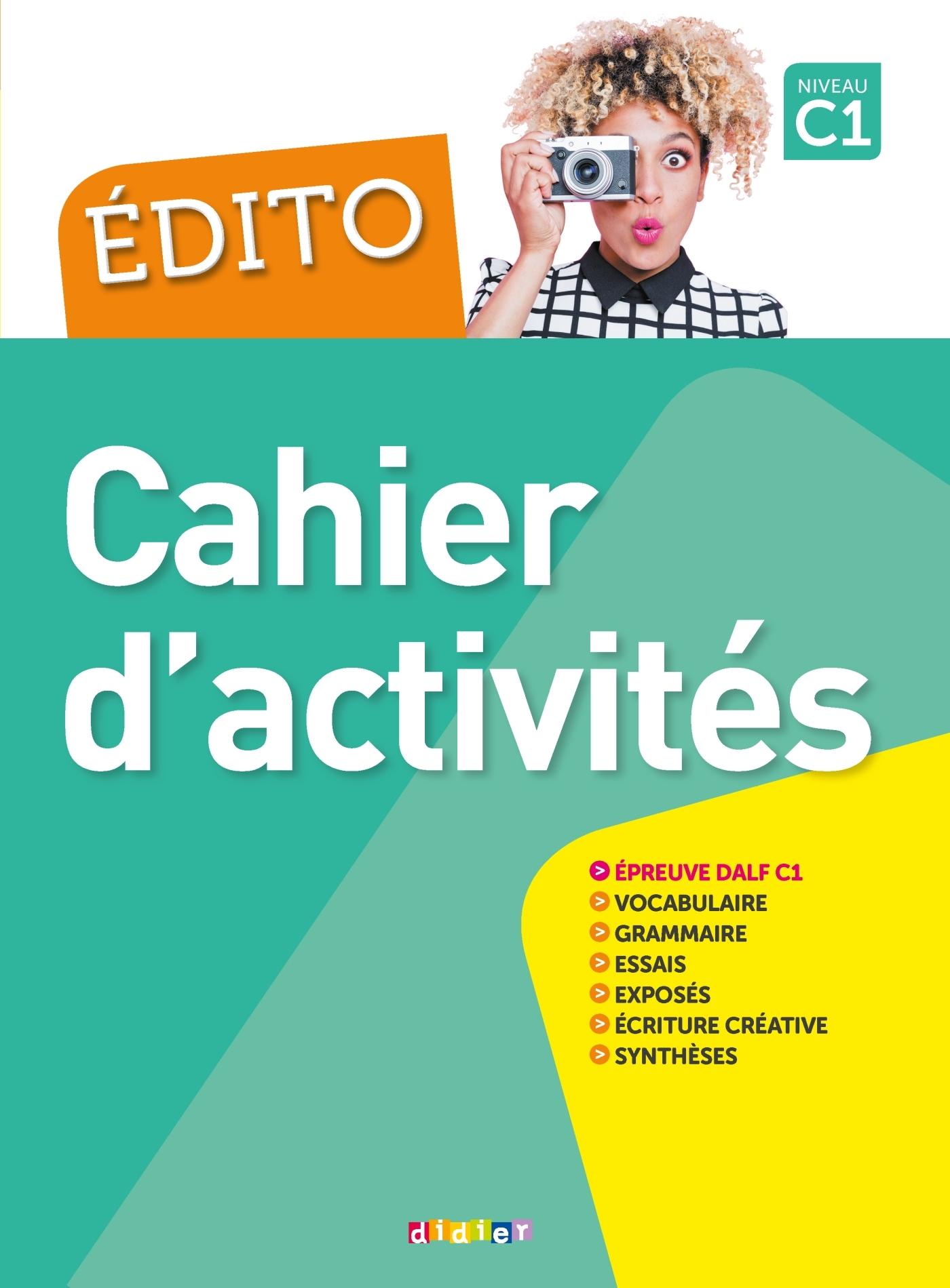 EDITO C1 (ED. 2018) - CAHIER