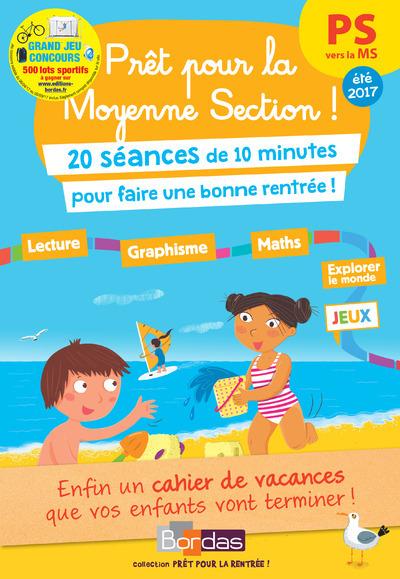PRET POUR LA MOYENNE SECTION ! PS VERS LA MS 20 SEANCES DE 10 MINUTES POUR REVISER TOUTE SON ANNEE